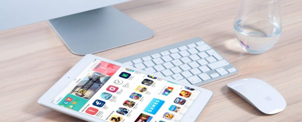 Imac Apple Mockup App Ipad Mouse Device Design